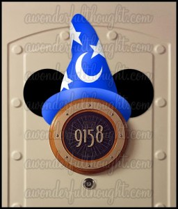 Stateroom Sorcerer Mickey Ears | awonderfulthought.com