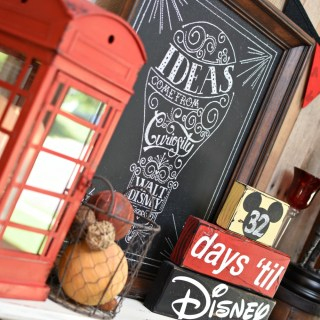 Countdown to Disney Mantel