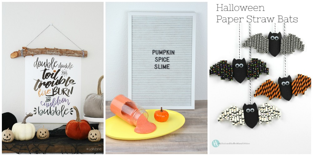 Not so spooky Halloween Craft Ideas | awonderfulthought.com