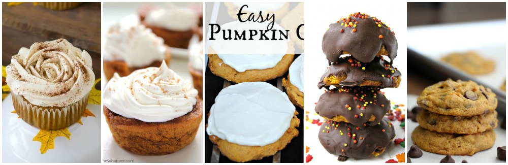 Pumpkin everything recipe roundup including dinners, breakfasts, cakes, cookies, muffins, breads and desserts! | awonderfulthought.com