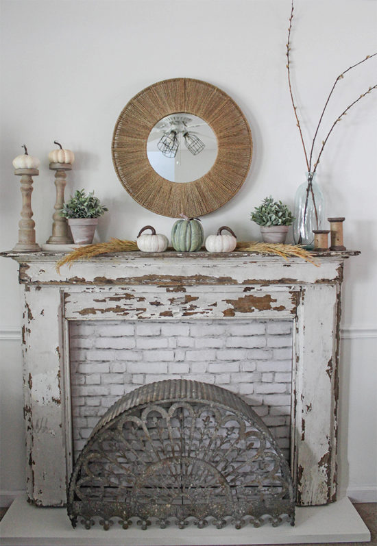 Simple Fall Decor   awonderfulthought.com