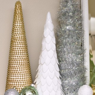 Diy Cone Christmas Trees.Cone Trees Archives A Wonderful Thought