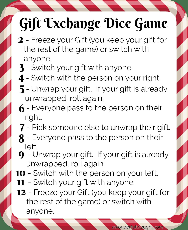 Good christmas gift exchange ideas