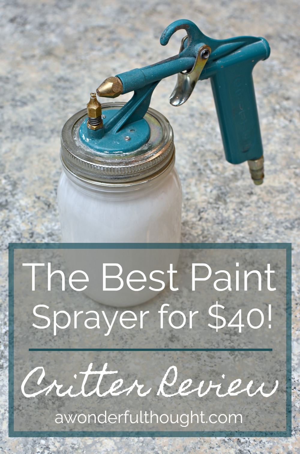 Critter Paint Sprayer Review A Wonderful Thought