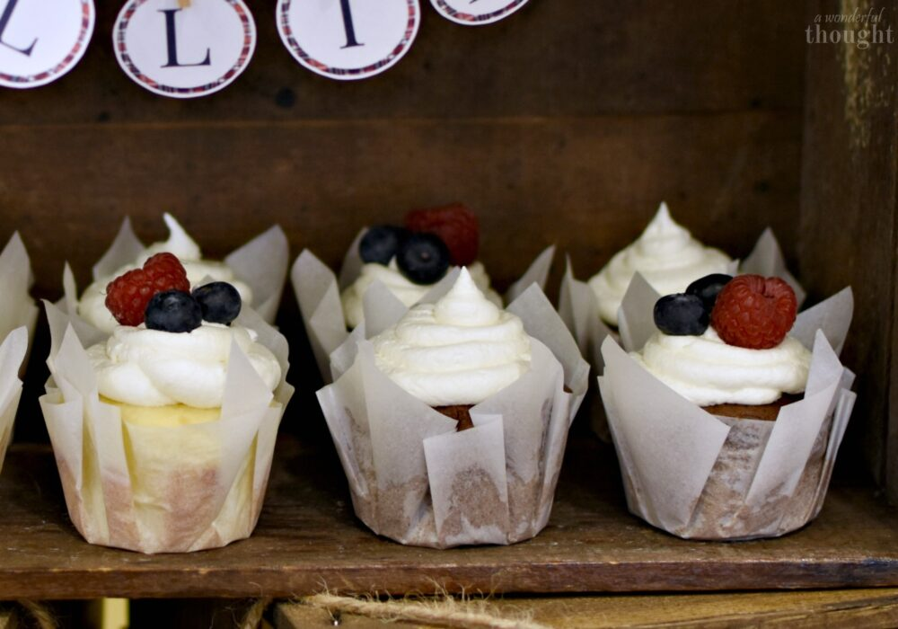 DIY Cupcake Liners - A Wonderful Thought