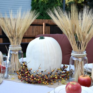 Outdoor Fall Tablescape Apple Harvest #falltablescape #outdoortablescape #outdoorfalltablescape #appletablescape #tablesetting #tabledecor #awonderfulthought