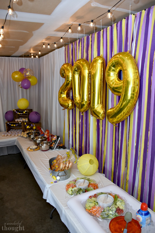 Graduation Theme Ideas: Garage Party - A Wonderful Thought
