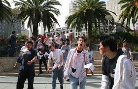 Zombies or marathoners?
