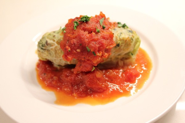 Wait, where'd September go? (featuring Vegan Stuffed Cabbage with Sweet and Sour Tomato Sauce)
