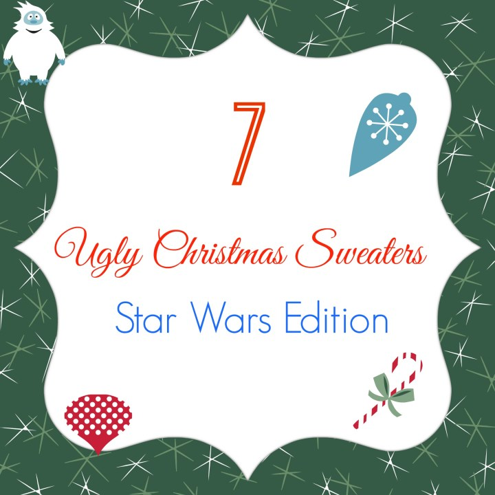 Ugly Christmas sweaters: The Star Wars edition