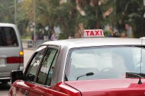 Full-time taxi drivers work up to ten hours a day, starting around 7 a.m.