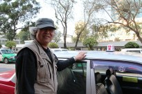 Vincent Lau, who has been driving his taxi for ten years, says that the planned raise will not make that much of a difference, because the inflation is too strong.