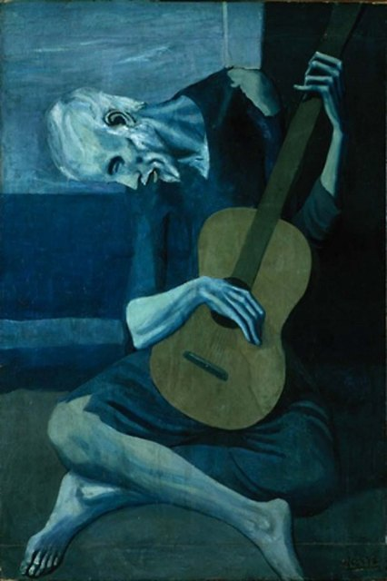 The Old Guitarist - Pablo Picasso