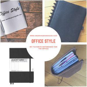 I am sharing my favorite notebooks to use in the office. This includes what to do with a leuchtturm notebook, discbound notebook, notebook ideas, travelers notebook ideas , notebook journal, notebook uses, Notebook creative and Notebook organizing