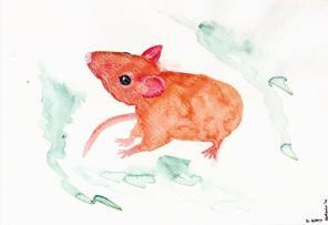 Chinese Zodiac, River of Animals - Rat