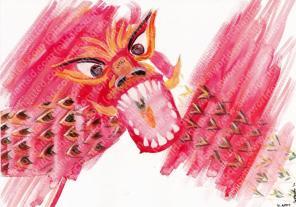 Chinese Zodiac, River of Animals - Dragon