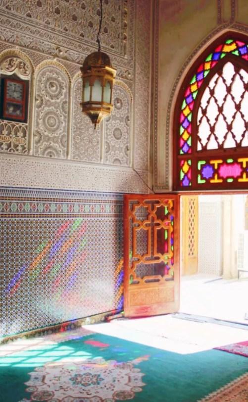 Eine Moschee in Fez