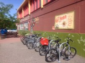 Bikes at the Good Earth Co-op in Billings