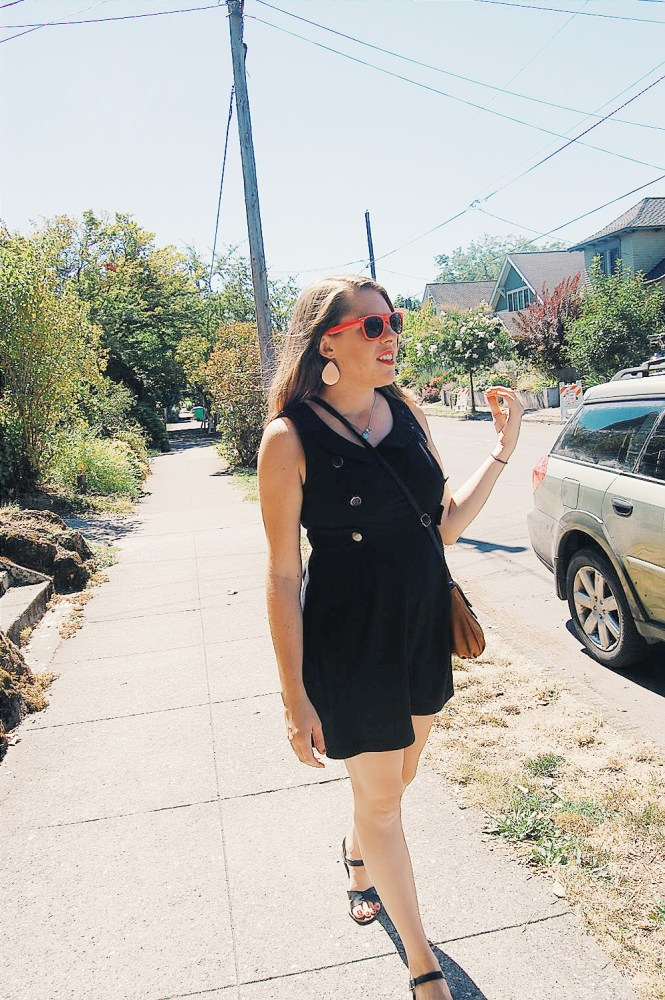 easy Portland dress