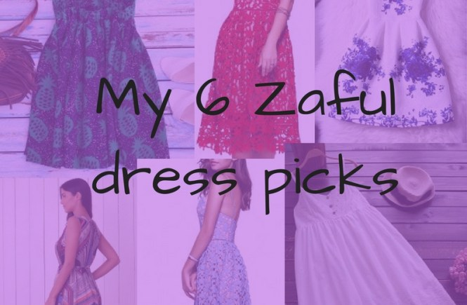 Zaful dress picks