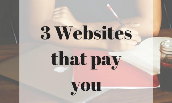 websites that pay you