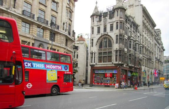 Contiki European Vista London Bus Tour