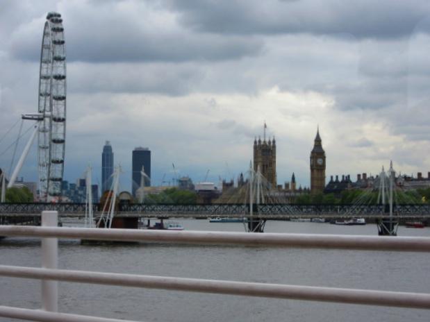 Contiki European Vista London Skyline