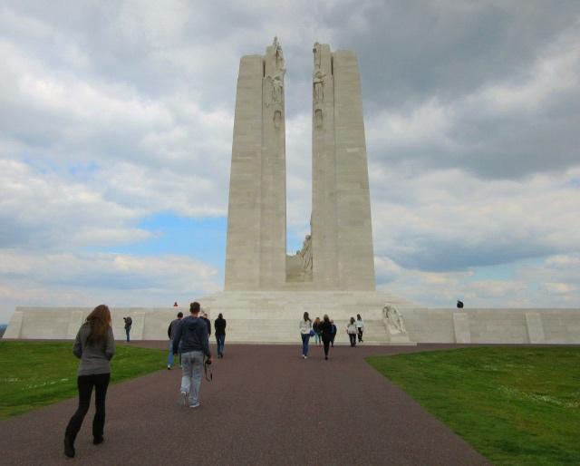 Contiki European Vista Vimy Memorial