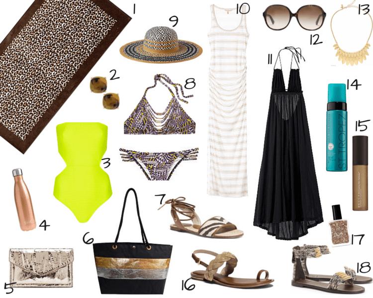 BRONZE Goddess Beach Vacation Accessories Fashion_Style 22