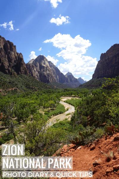 Zion National Park Tips & Tricks_Pinterest