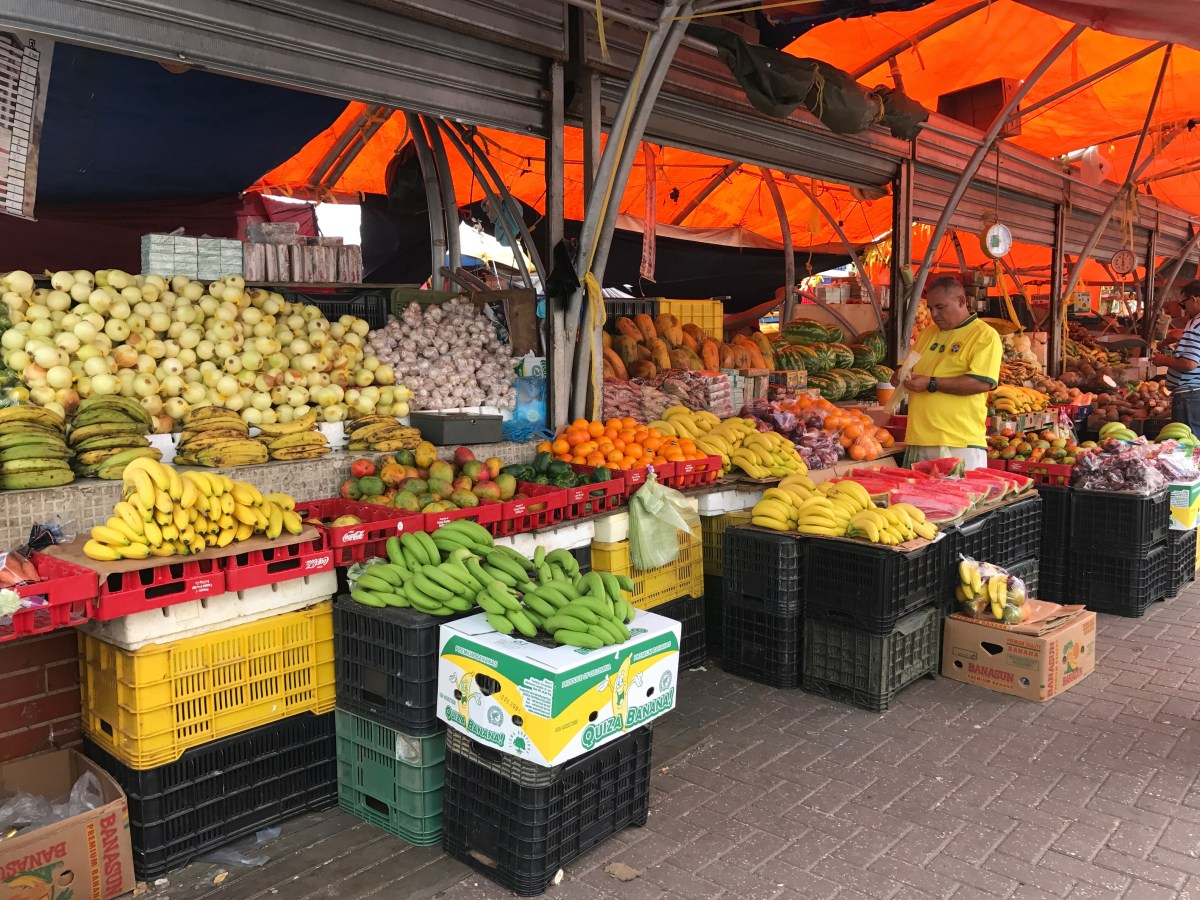 Market in Willemstad, Curaçao