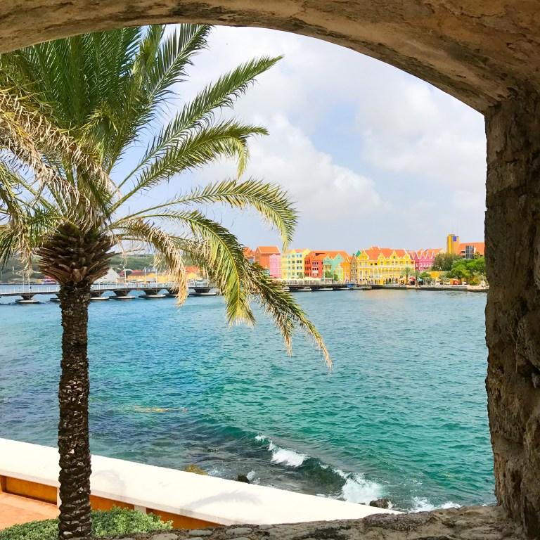Exploring Rif Fort in Willemstad, Curaçao