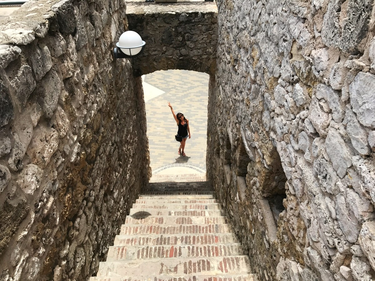 Exploring Rif Fort in Willemstad, Curaçao
