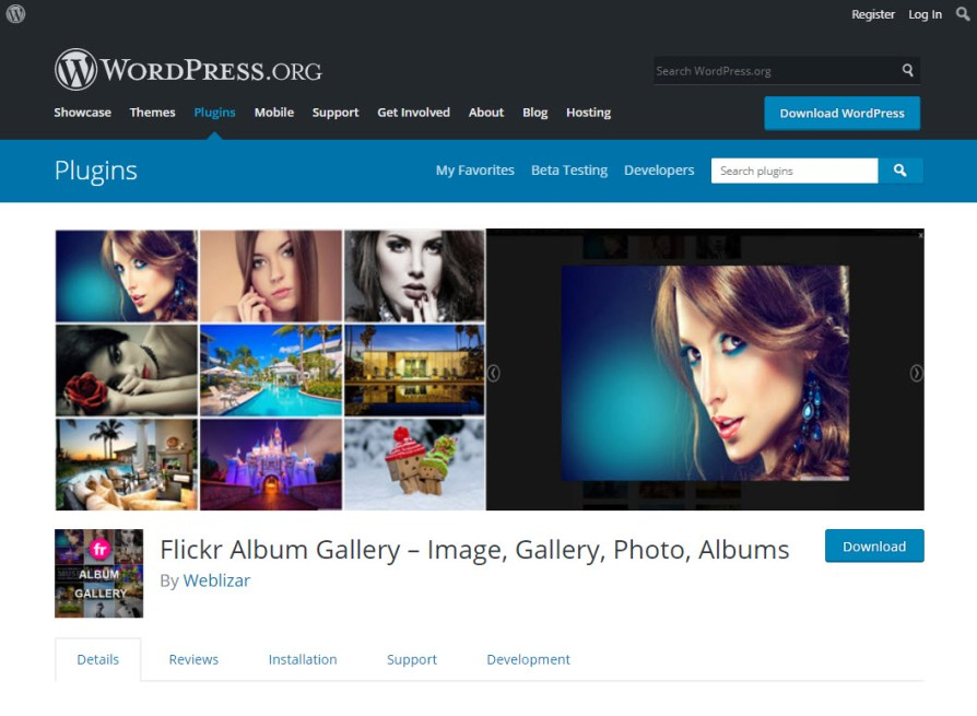 flickr gallery shortcode