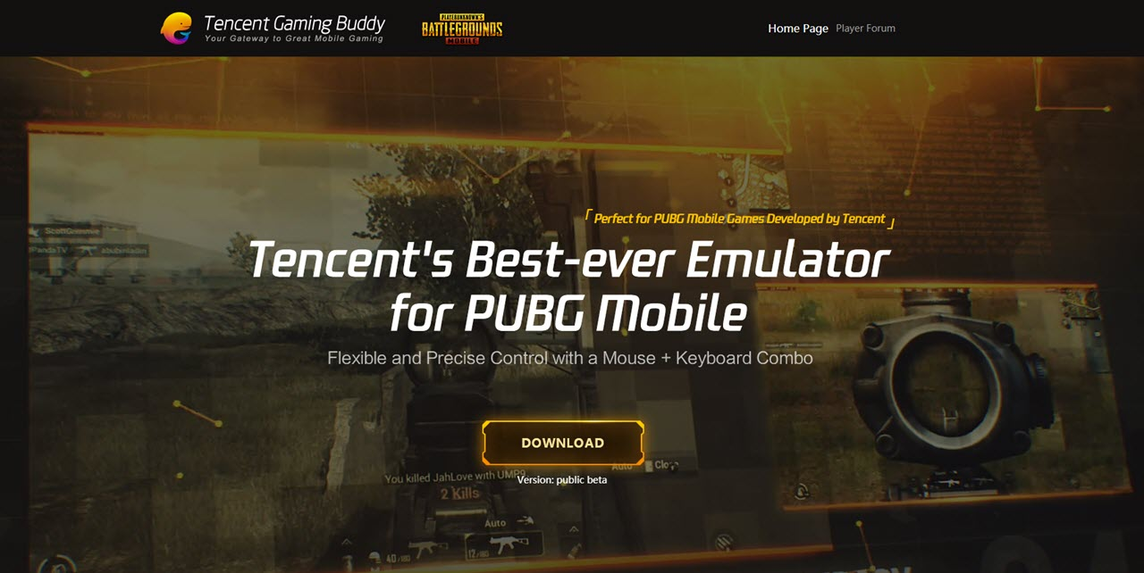 Tencent games pubg for pc