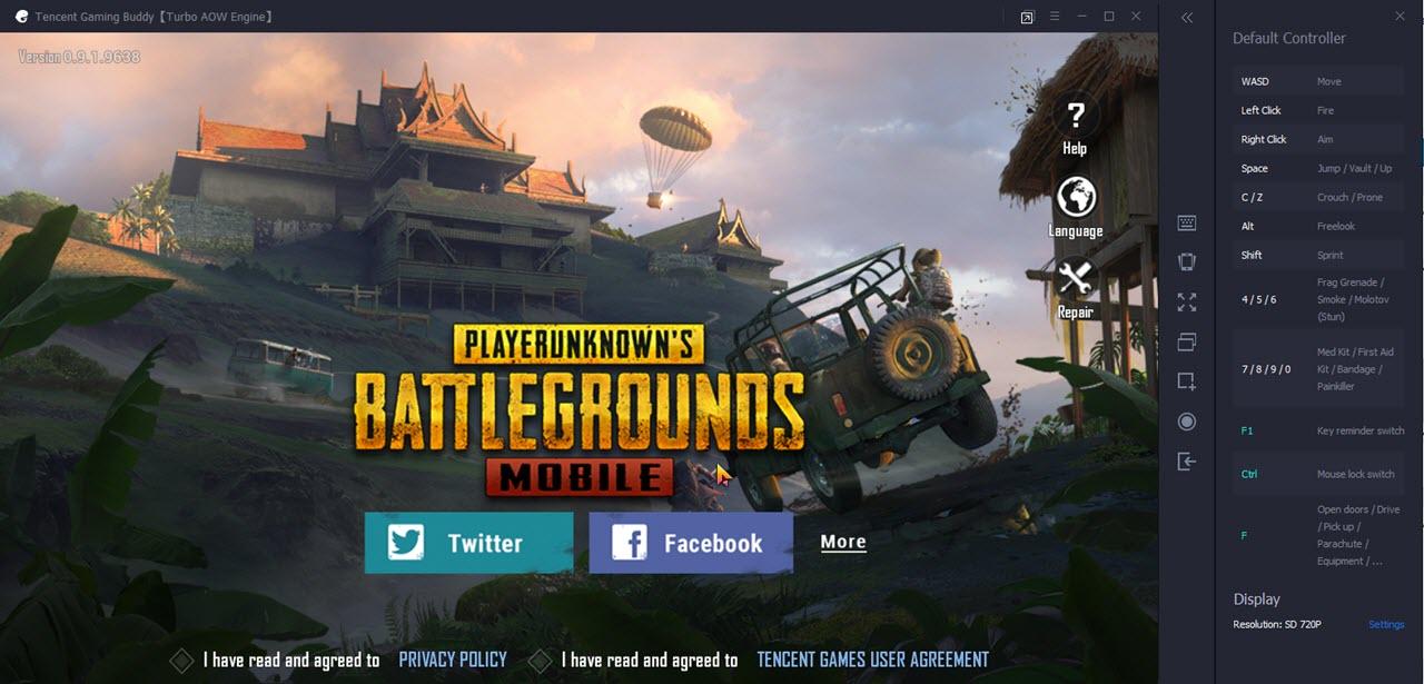 Play PUBG PC game free