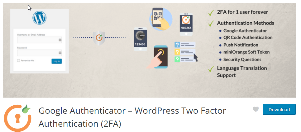 Google Authenticator for Two Factor Login Authentication