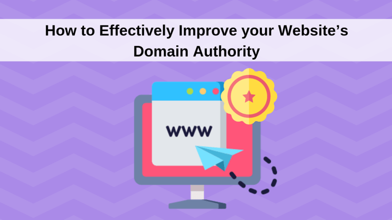 How-Effectively-Improve-Website-Domain-Authority