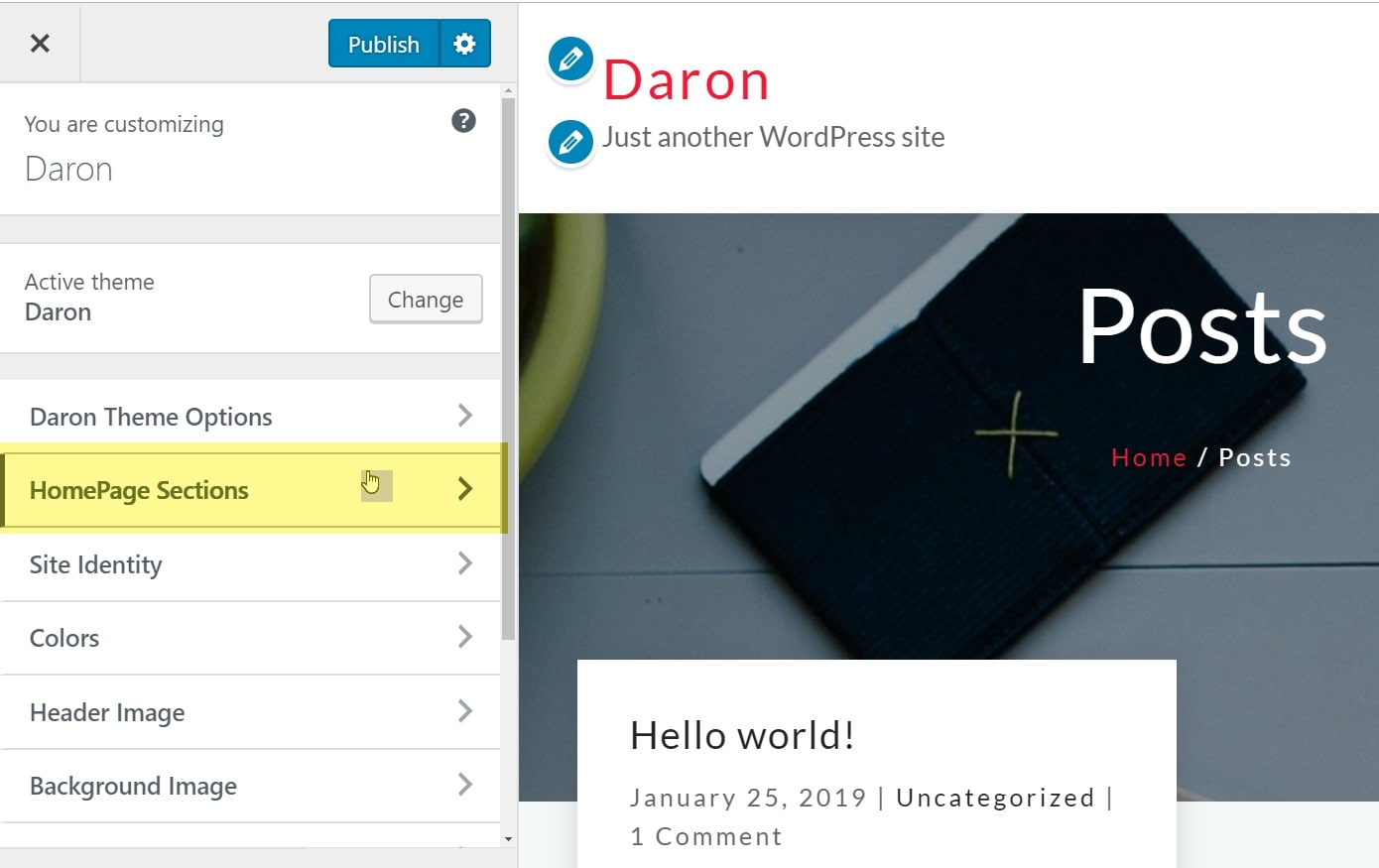 daron Homepage