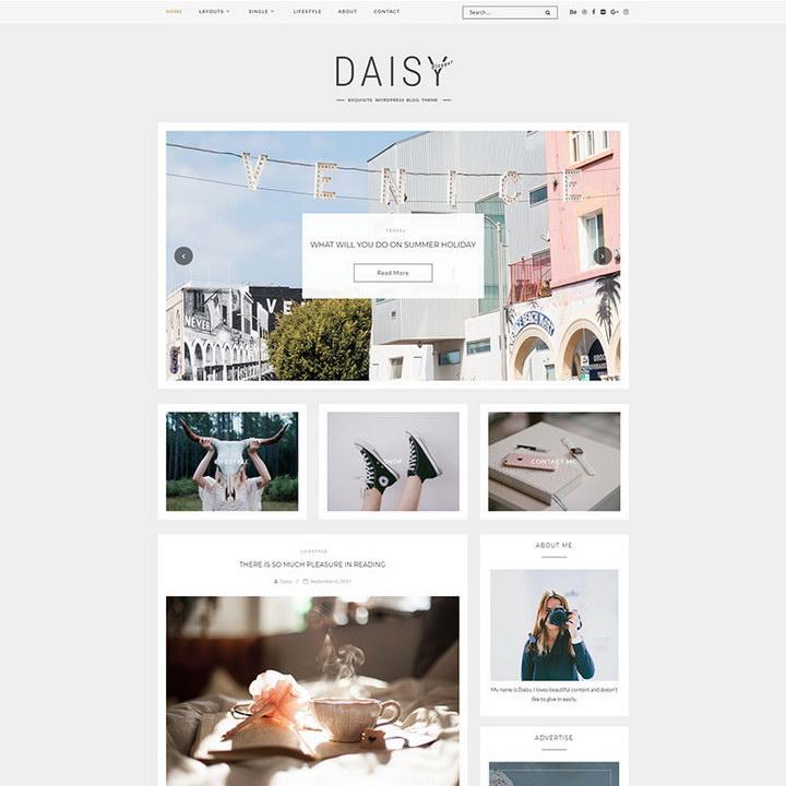Daisy - Exquisite Blog WordPress Theme