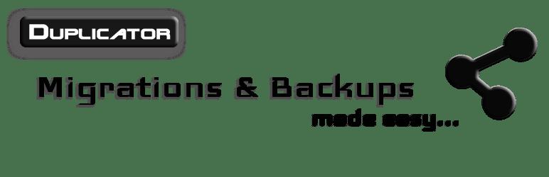 Duplicator Migrations and Backup WP Plugins
