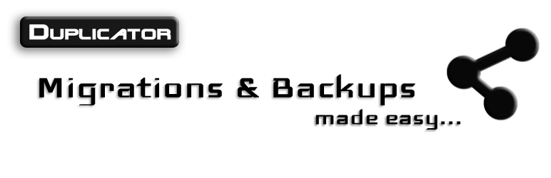 Duplicator Migrations and Backup WP Plugins