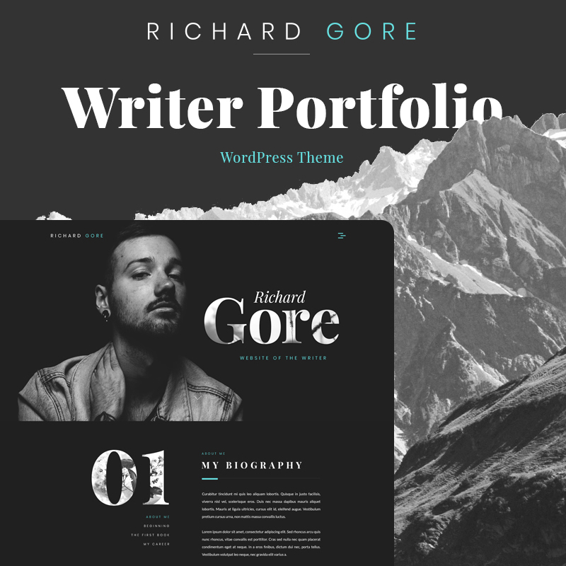 Richard Gore WordPress theme