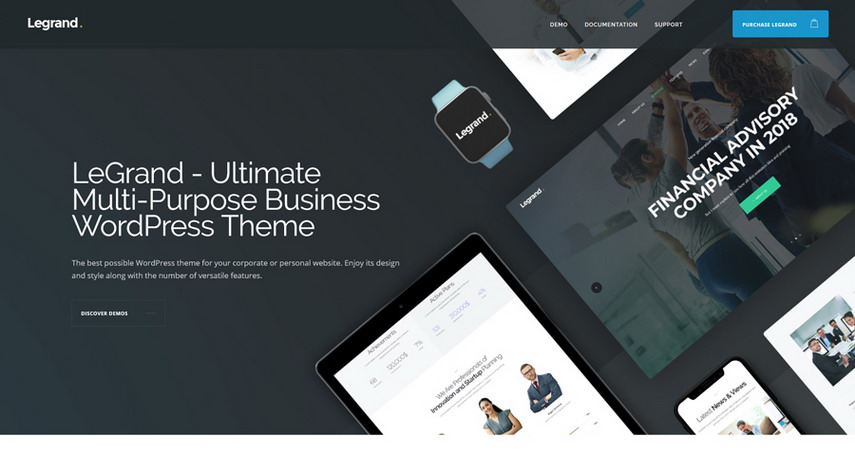 LeGrand A Modern Multi-Purpose Business WordPress Theme