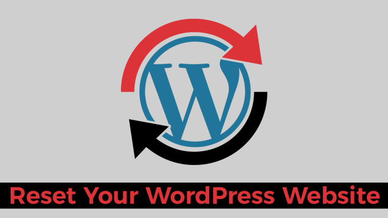 Plugin To Reset Your WordPress Website