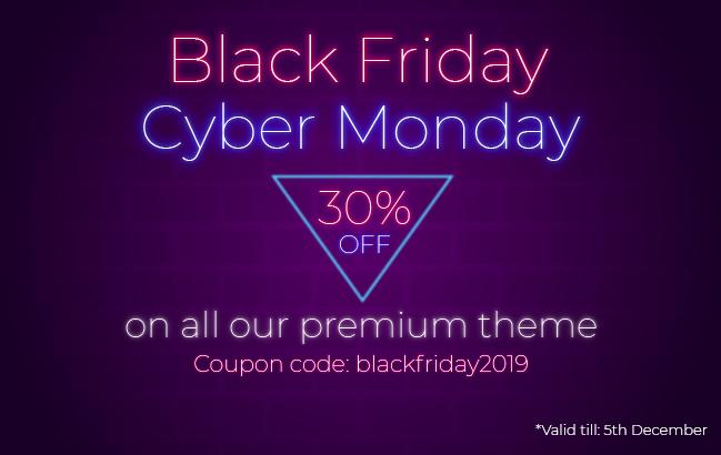 8Degree Themes Black Friday Offer