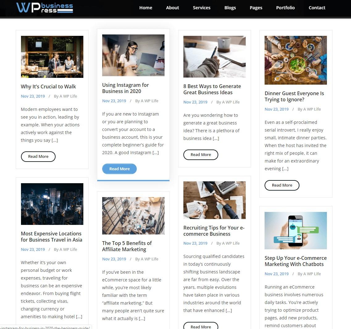Blog 4 Column