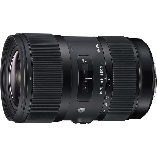 Sigma Lens – Af18-35Mm F1.8 Dc Hsm F/Canon Lenses Digital Camera Lens