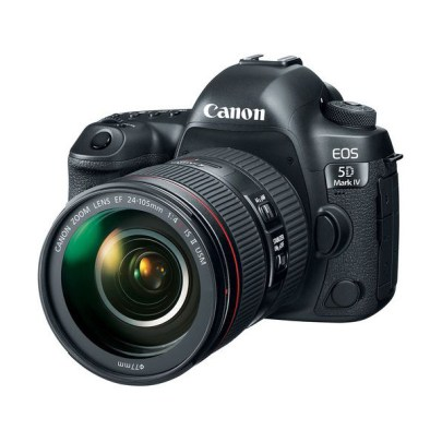 Canon EOS 5D Mark IV DSLR Camera with 24-105mm f/4L II Lens Dslr Camera Canon