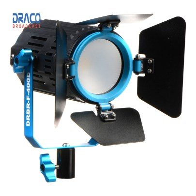 Dracast Boltray LED400 Daylight Fresnel Light Draco Broadcast